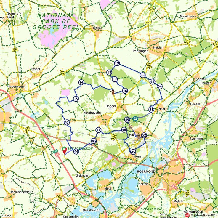 Fietsroute: Fietsen door het Leudal (http://www.route.nl/fietsroutes/151243/Fietsen-door-het-Leudal/)