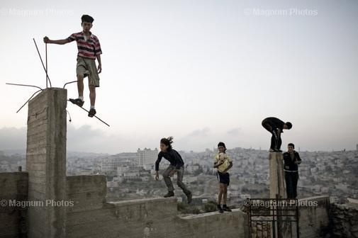 Kids playing in Bethlehem