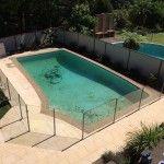 Semi frameless glass pool fence sydney. Sydwest Fencing
