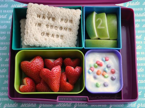 Sending a Message in a Bento has never been so much fun! #LaptopLunches #Bentology