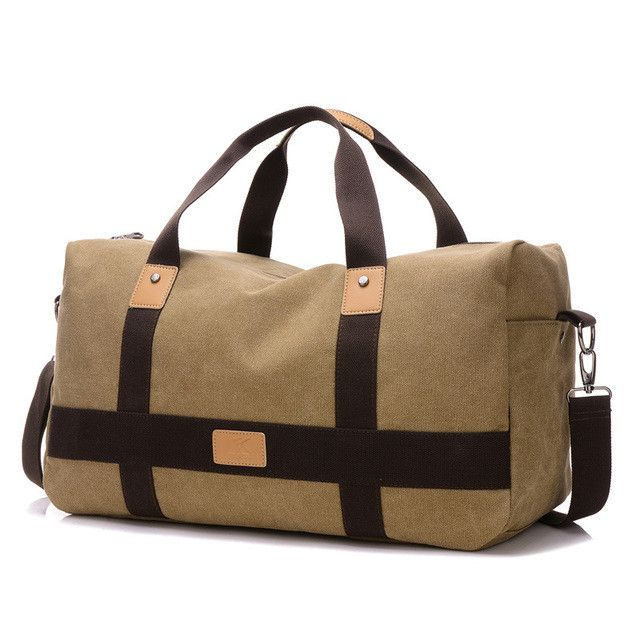 KVKY New Casual Man Canvas Bags Travel Bag Unisex Travel Duffle Men Luggage  Bag Large Capacity Male Weekend Bags Bolsos WH437 4c69abe446c6b