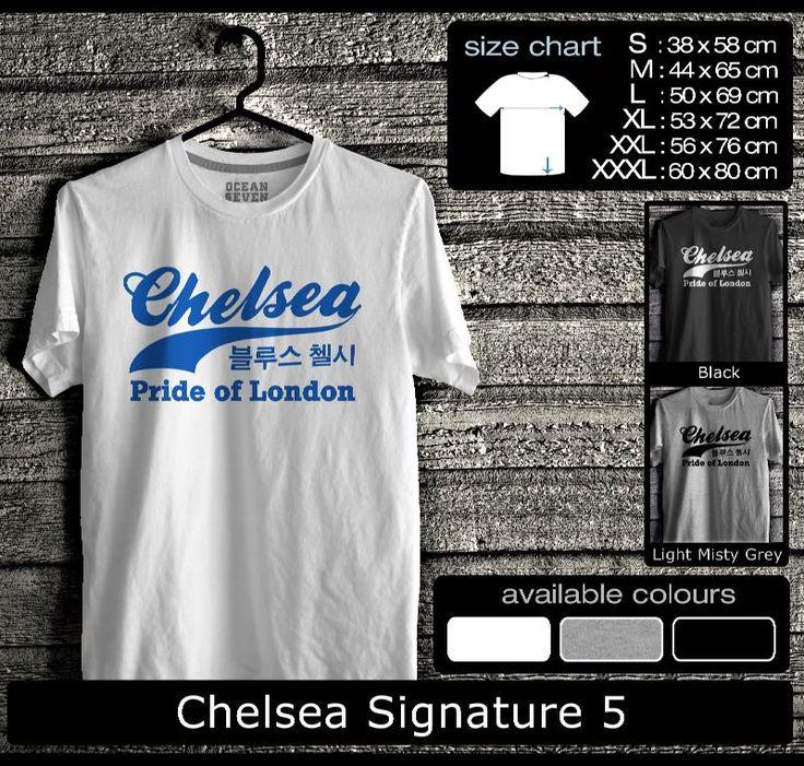 Kaos Chelsea FootBall Club   Kaos Fans Chelsea  True Blue 1