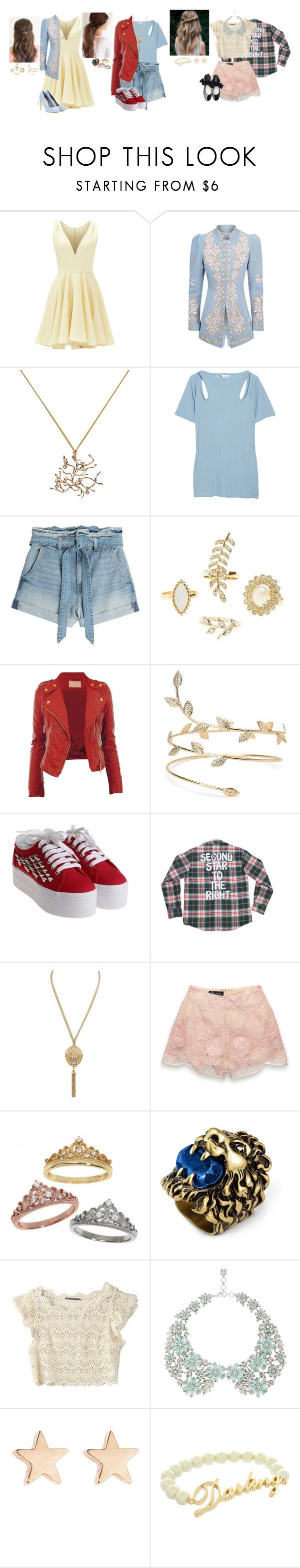 """Addie, Jamie, Wendy Jr ( VKs' first day of school)"" by sophie-lightwood-bane ❤ liked on Polyvore featuring Allison Parris, Andrew Gn, Miu Miu, Y-3, 7 For All Mankind, Charlotte Russe, Jeffrey Campbell, Sretsis, Eternally Haute and Gucci"