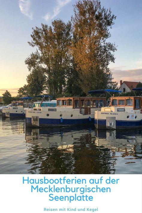 Hausbootferien auf der Mecklenburgischen Seenplatte