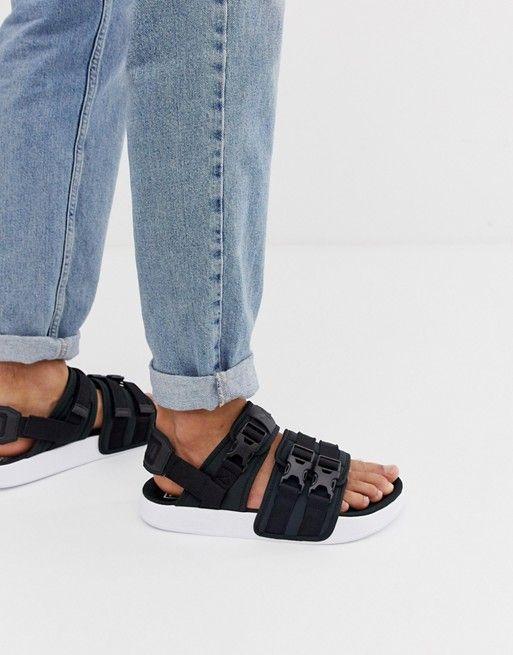 Puma Leadcat YLM 19 sandals in black