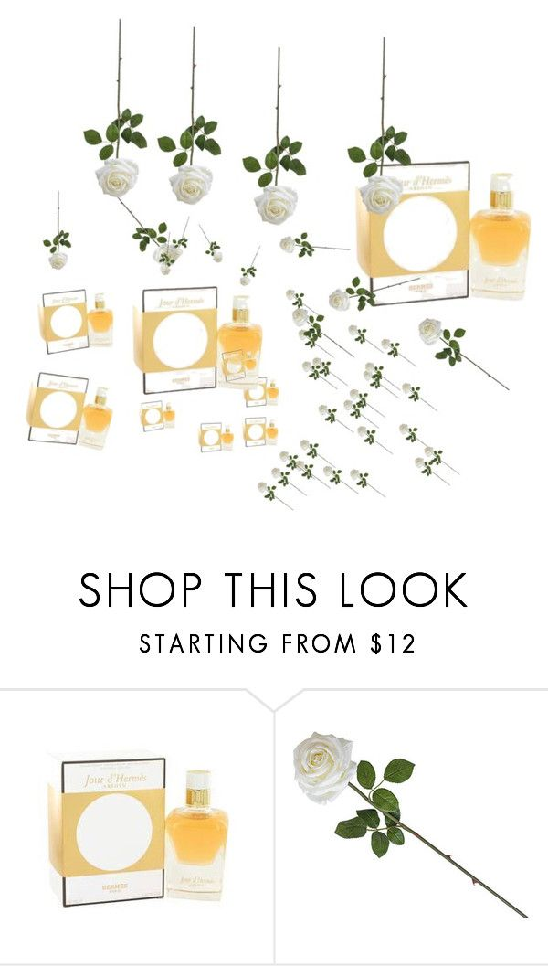 """Jour D'Hermes Perfume"" by dorota-cafragrance on Polyvore featuring uroda i Hermès"