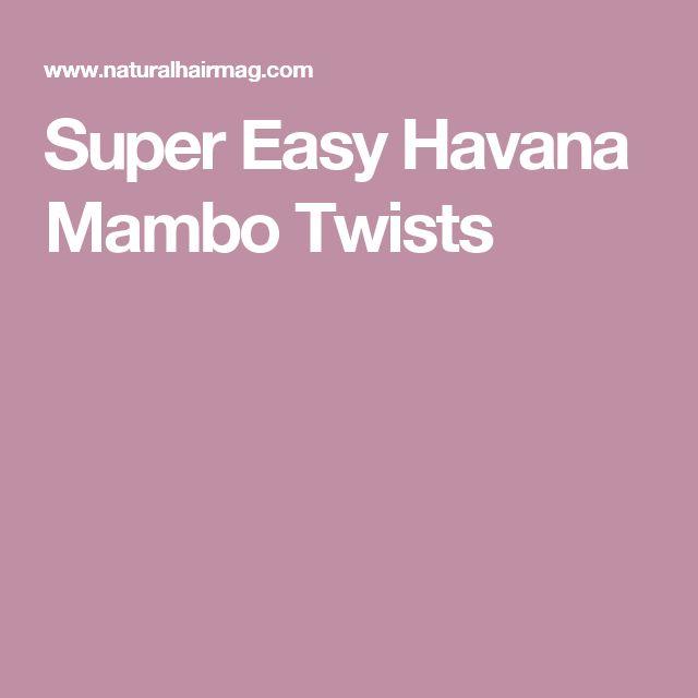 Super Easy Havana Mambo Twists