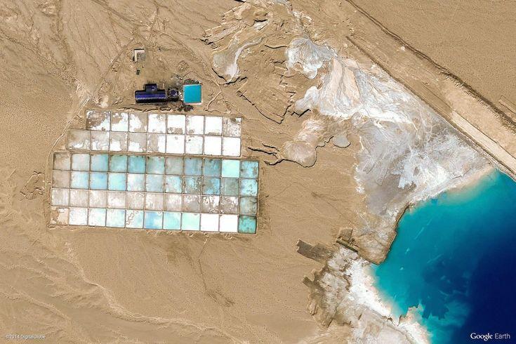 Le più belle foto di Google Earth di sempre - Il Post