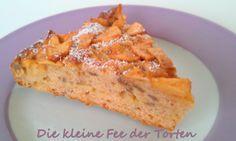 ♥ Die kleine Fee der Torten: Ich liebe diesen Kuchen {Vollkorn-Dinkel Apfelkuchen mit Sonnenblumenkernen}