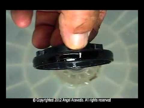 Vástago y sello de la tina lavadora Maytag - YouTube