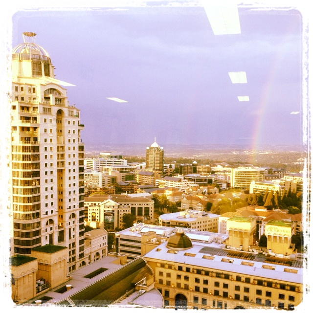 #Instagram of @Sandton's #MichelangeloTowers and Central Business District.