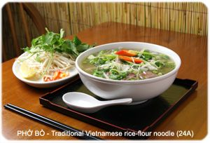 Thanh Binh - Noodles menu