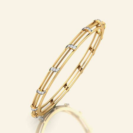Comfort threeline bangle