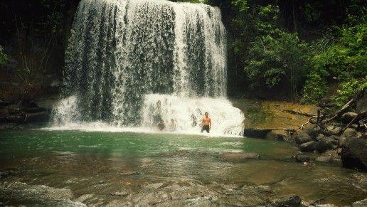 Water fall louser park,tangkahan
