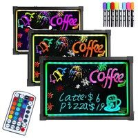 Mama | Led Message Writing Board Menu Sign With Led Color Control Button Signal Display