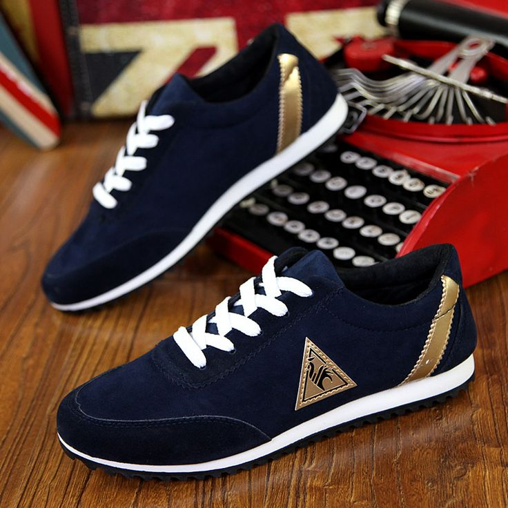 2016 new mens Casual Shoes canvas shoes for men Lace-up Breathable fashion summer autumn Flats pu Leather fashion suede shoes