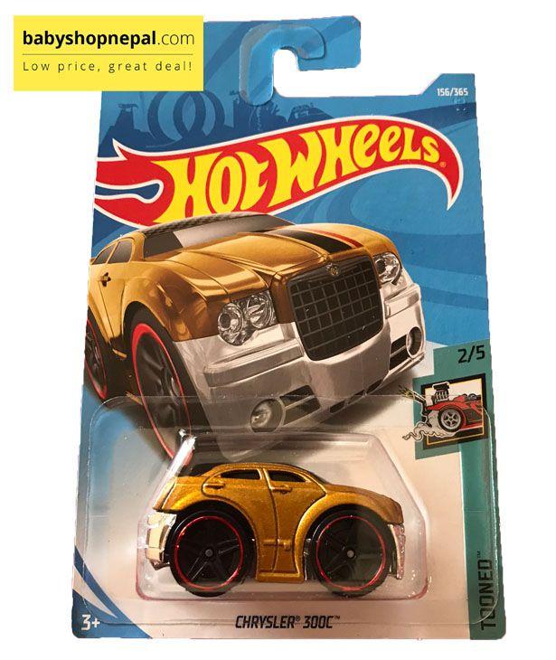 2018 HOT WHEELS Gold Chrysler 300C Tooned series 2//5