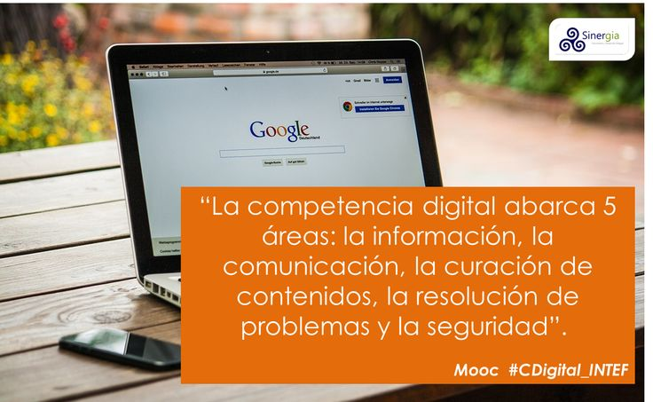 5 áreas de competencia digital: