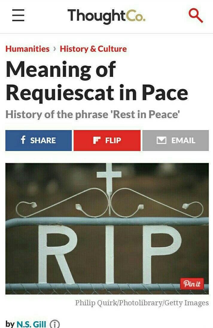 Definition of R I P  - Requiescat in Pace (R I P ) | CATHOLIC FAITH
