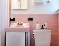 Simple Design Pink Bathroom on pretty pink bathrooms, cool pink bathrooms, nice pink bathrooms,