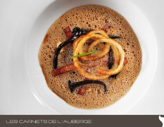 Photo d'un plat signé Éric Gonzalez. Client: L'Auberge Saint Gabriel