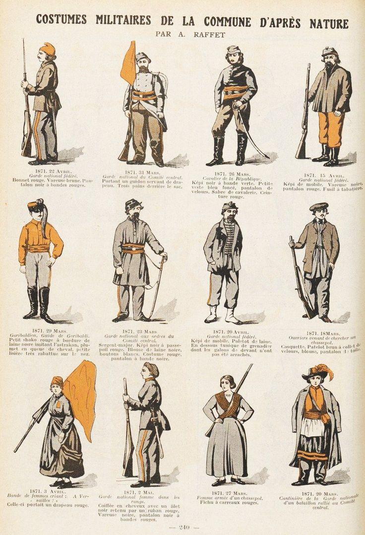 Costumes_militaires_de_la_Commune_d'après_nature_par_A._Raffet