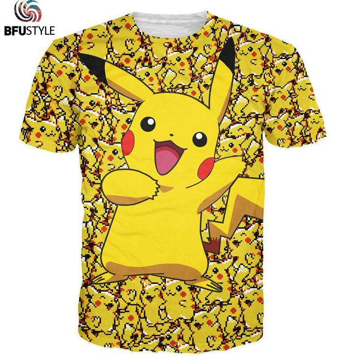 All Pokemon Clothing - Male - Click here to see