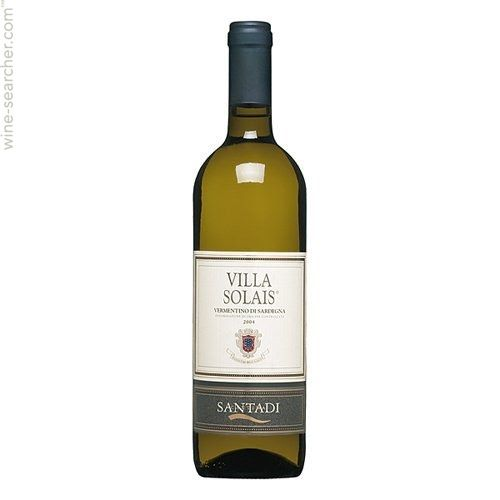 Santadi Villa Solais Vermentino di Sardegna - Intensely aromatic on the nose with minerals and kerosene. Wonderfully structured, dry, and harmonious on the palate. A very good example from Sardegna.