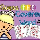 Poetry {Poem of the Week} Guess the Covered Word #1  This is a set of 20 original poems in a power point file to use for guess the covered word act...