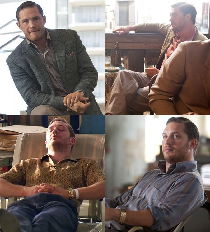 Style Inspiration: Tom Hardy in Inception
