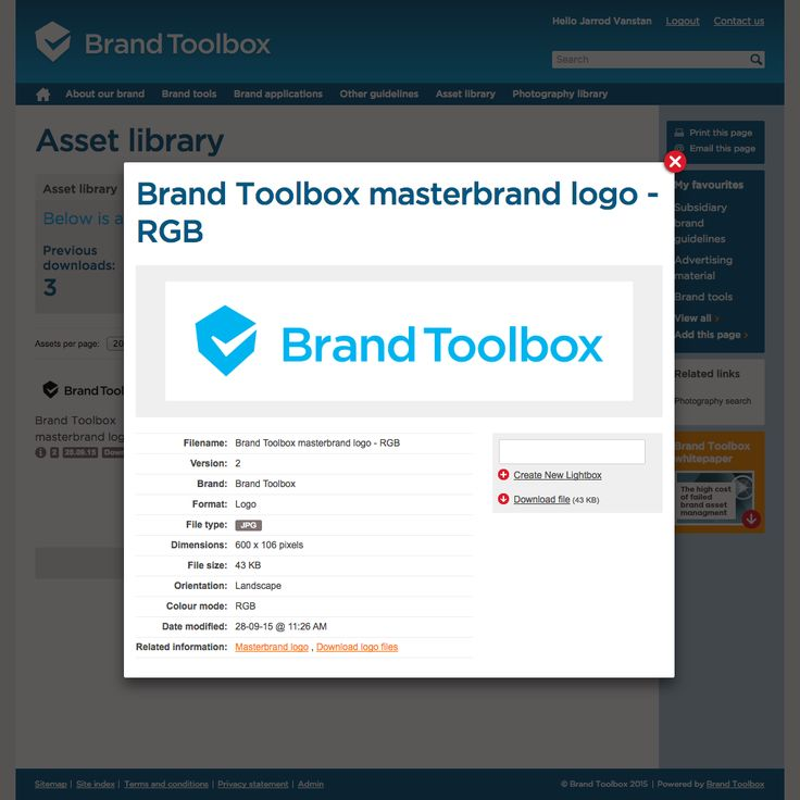 Best Brand Toolbox  Brand Asset Management Images On