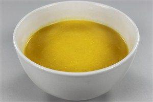 Gulerodssuppe med flødeost 4