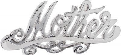 Brooch or Necklace - MOTHER - Sterling Silver or 9ct Gold