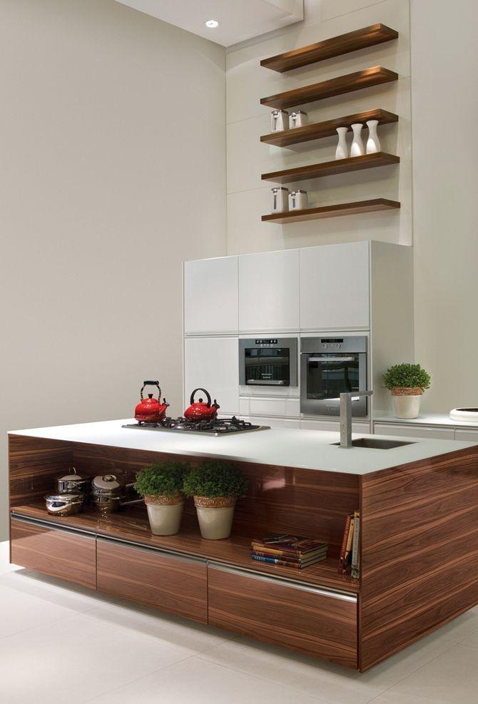kitchen dining modern http://tempodadelicadeza.com.br/2014/10/25/cozinhas-com-pe-direito-alto-inspire-se/