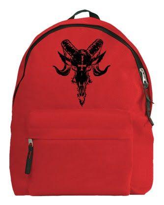 Hátizsák / RockPont: Hedonista hátizsák kosfej mintával / online rendel...