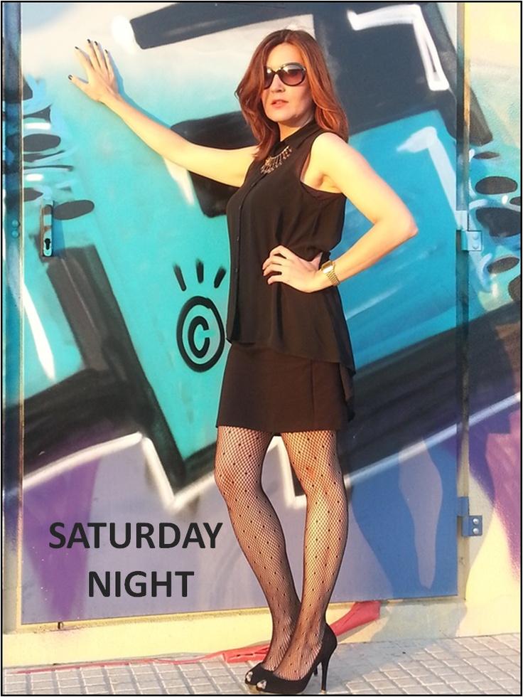 Saturday Night Look: All Black!