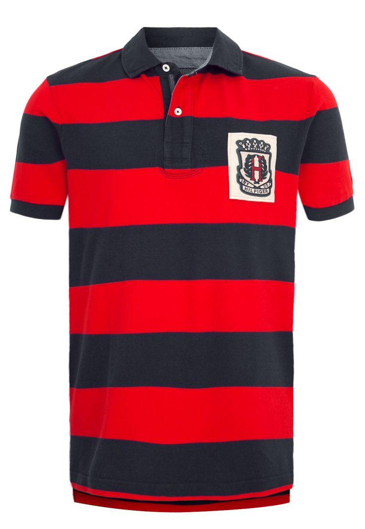 Camisa Polo Tommy Hilfiger Vermelha - Marca Tommy Hilfiger