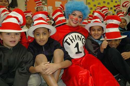 Read Across America Day with Dr. Seuss and NEA