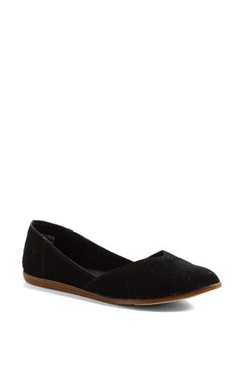 TOMS 'Jutti' Flat (Women) available at #Nordstrom