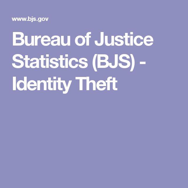 The 25 best identity theft statistics ideas on pinterest for Bureau justice statistics