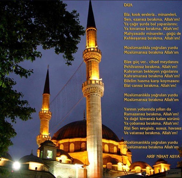 Biz, Kısık Sesleriz.. – Resimli en güzel Allah şiirleri