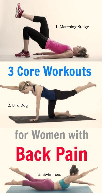 These are best core strengthening exercises for women who are suffering from back pain.