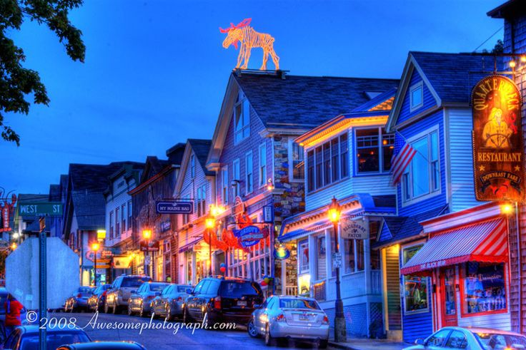 Bar Harbor Maine Favorite Places Amp Spaces Pinterest Restaurant New Love And Bar