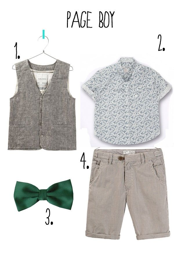 Cute outfit for little boy for church