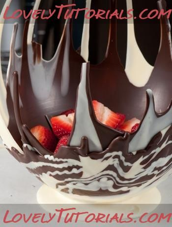 -chocolate bowl tutorial