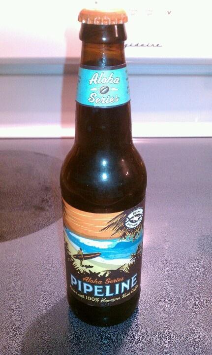 Pipeline Hawaii beer.