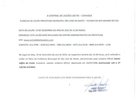 29.12.LEIL. SÃO J. N - www.centraldeleiloesdors.com