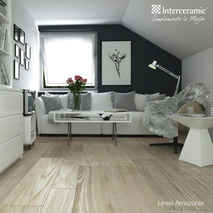 Las maderas cer micas son perfectas para un cuarto moderno for Pisos interiores modernos