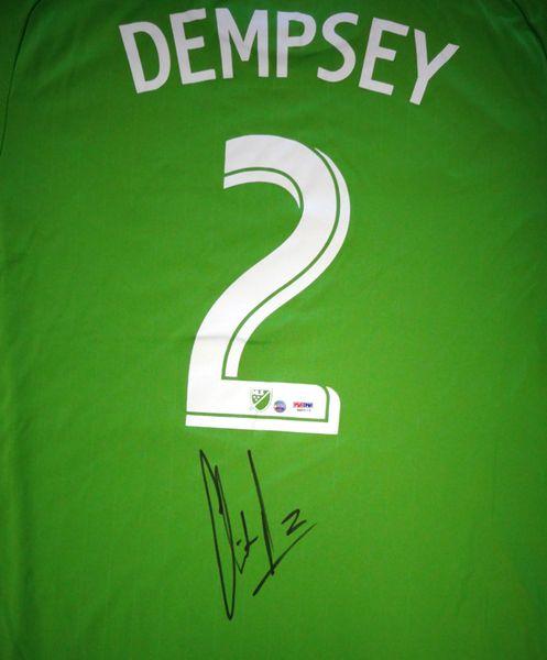 Clint Dempsey Autographed Seattle Sounders Adidas Jersey Size XL PSA/DNA