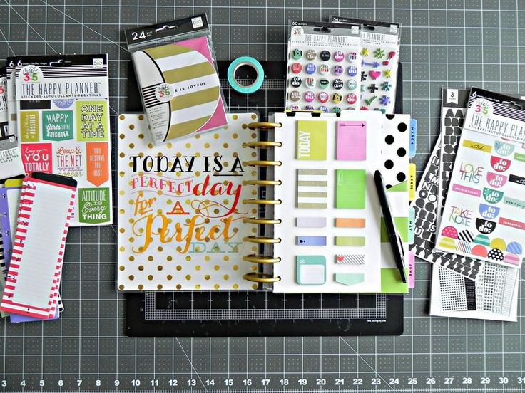 mambi Design Team member Stephanie Buice talks about her Create 365™ Happy Planner™ | me & my BIG ideas
